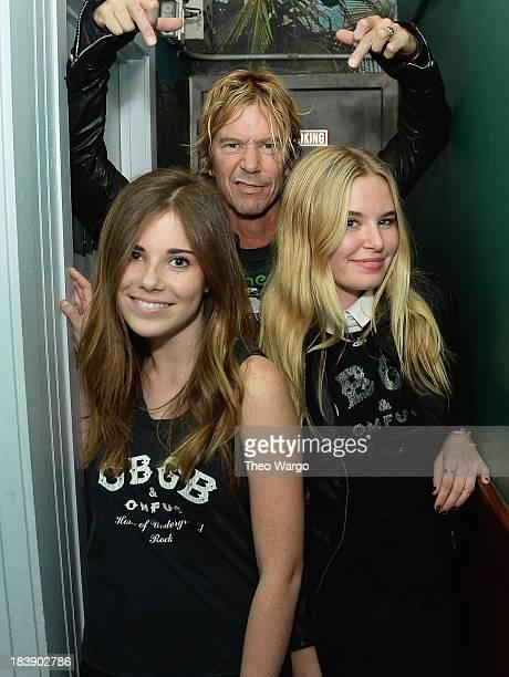 Jamie Brooks Duff McKagan and Grace McKagan attend CBGB Music Film Festival 2013 New York Debut Of Pink Slips Featuring Grace McKagan And Jamie...