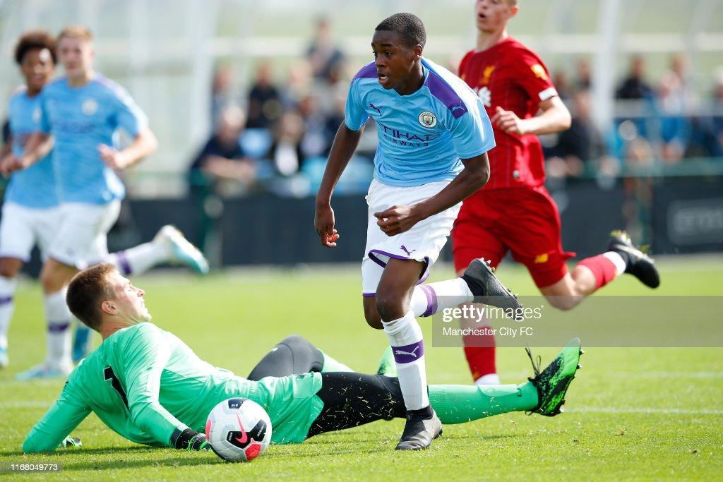 Manchester City v Liverpool: U18 Premier League : News Photo