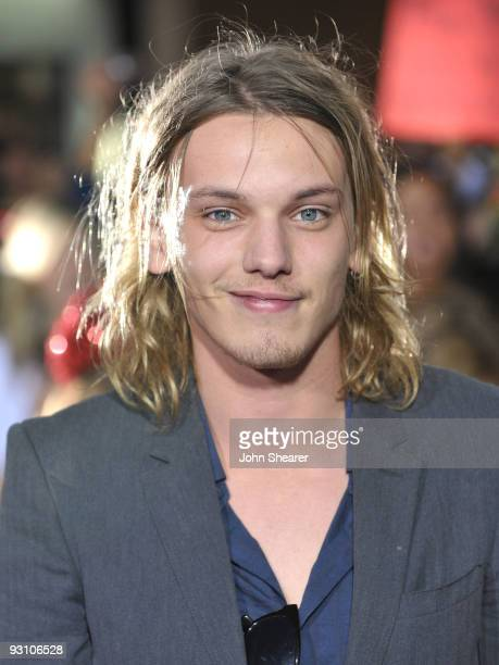 Jamie Campbell Bower arrives at 'The Twilight Saga New Moon' premiere held at the Mann Village Theatre on November 16 2009 in Westwood California