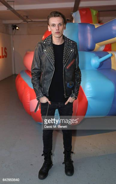 Jamie Campbell Bower attends Diesel Make Love Not Walls Global Event on February 19 2017 in London England