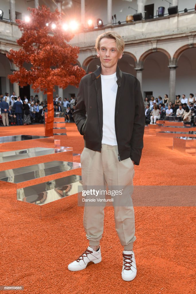 Ermenegildo Zegna - Front Row - Milan Men's Fashion Week Spring/Summer 2018