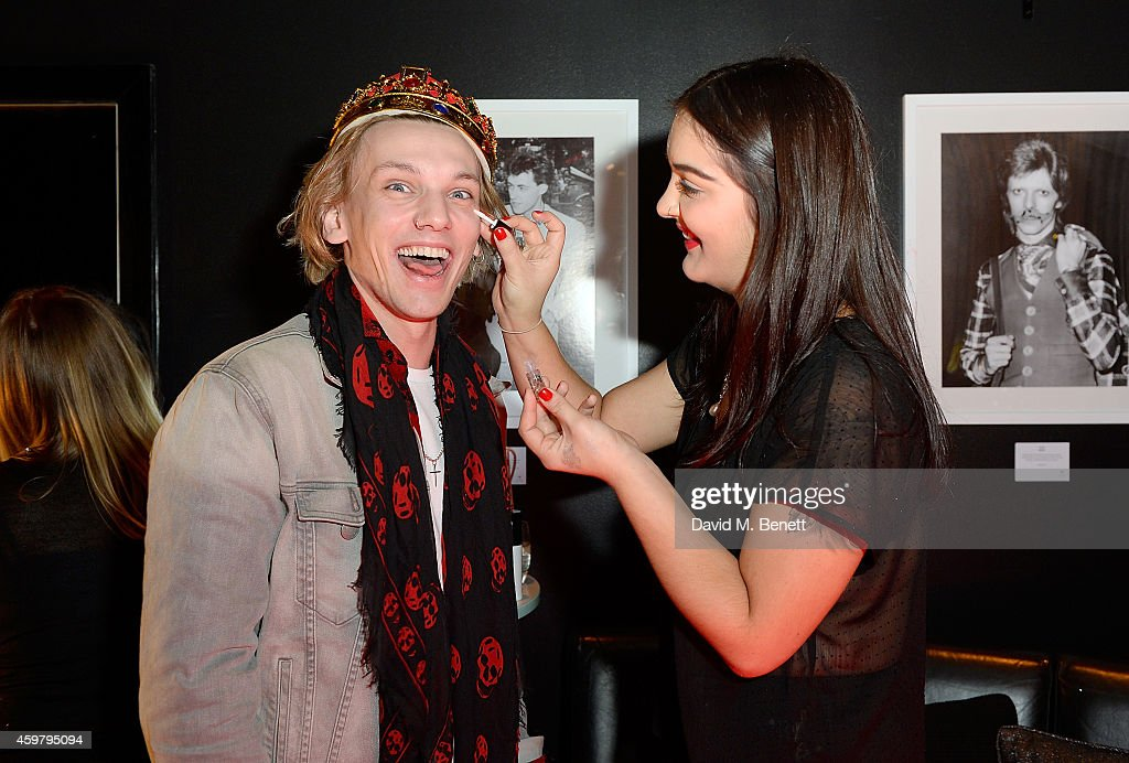 Jamie Campbell Bower attends the W London - Leicester Square & (RED) World AIDS Day Fundraising Party at Wyld on December 1, 2014 in London, England.