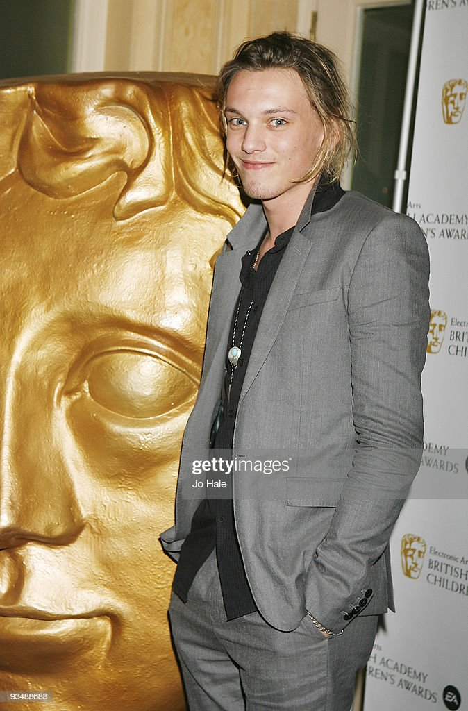 Jamie Campbell Bower poses in the press room at the 'EA British Academy Children's Awards 2009' at The London Hilton on November 29, 2009 in London, England.