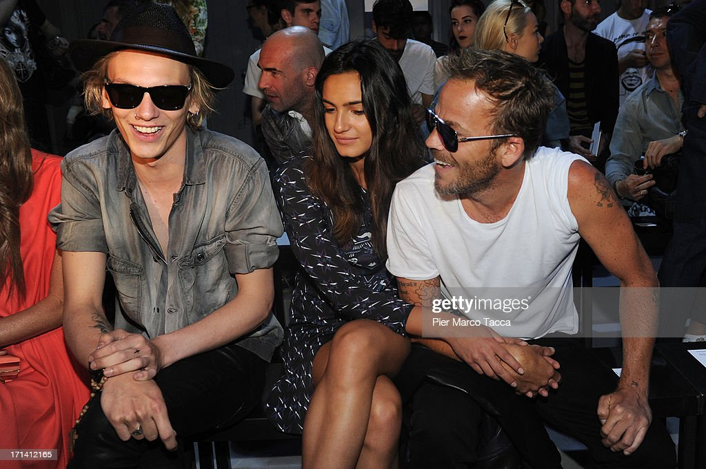 Jamie Campbell Bower, Stephen Dorff and his new girlfriend