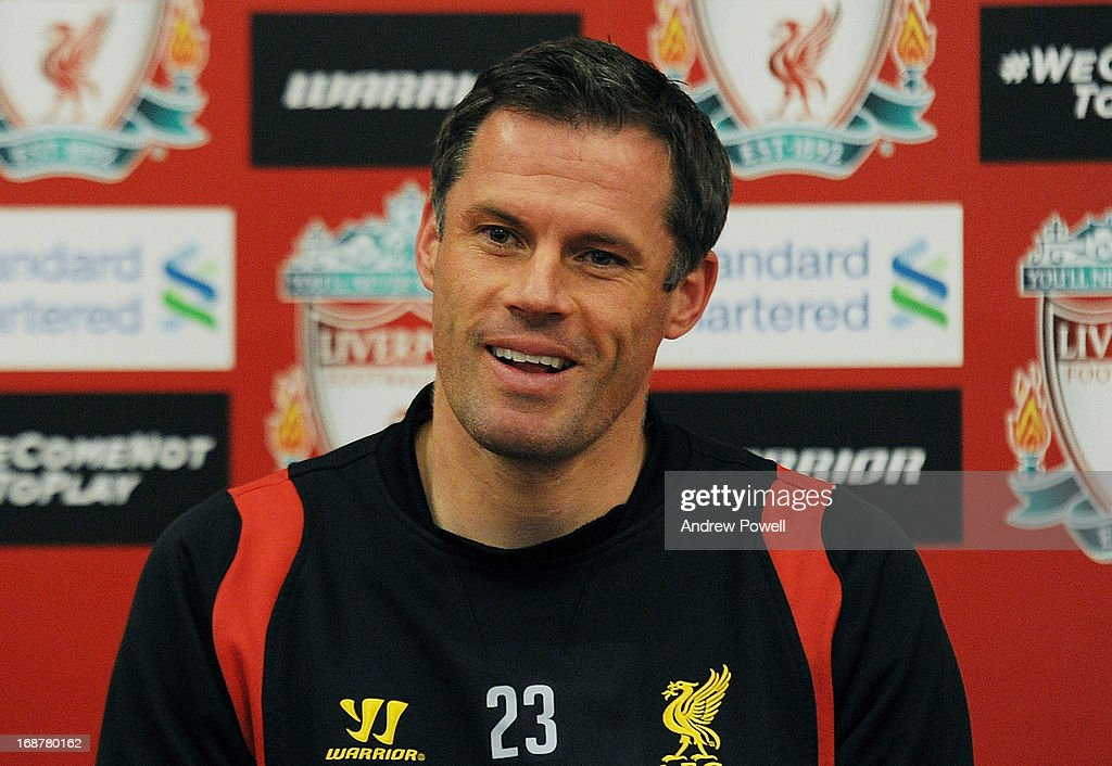 Jamie Carragher Press Conference