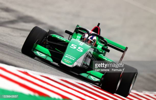 Jamie Chadwick of Great Britain and Veloce Racing drives during qualifying ahead of W Series Round 2 at Red Bull Ring on July 02, 2021 in Spielberg,...