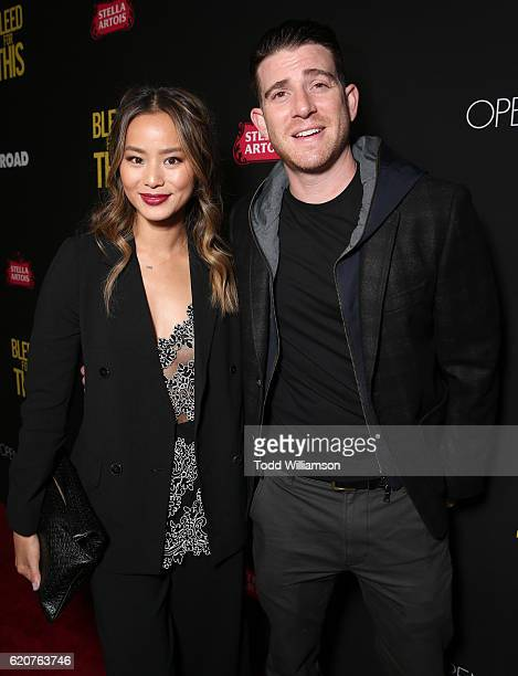 Jamie Chung and Bryan Greenberg attend the Premiere Of Open Road Films' 'Bleed For This' at the Samuel Goldwyn Theater on November 2 2016 in Beverly...