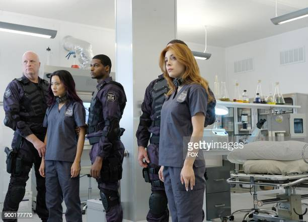 Jamie Chung and guest star Elena Satine in the 'eXploited' episode of THE GIFTED airing Monday Dec 11 on FOX