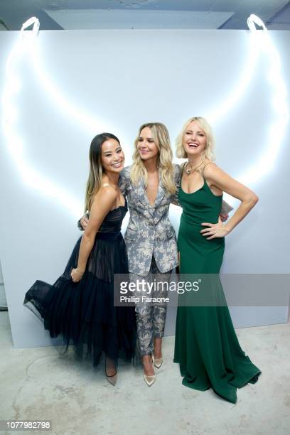 Jamie Chung Arielle Kebbel and Malin Akerman attend Michael Muller's HEAVEN presented by The Art of Elysium on January 5 2019 in Los Angeles...