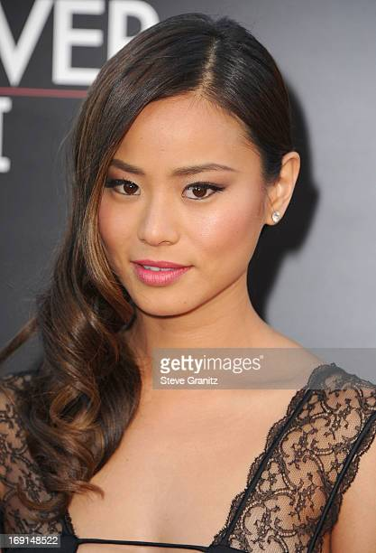 Jamie Chung arrives at the 'The Hangover III' Los Angeles Premiere at Mann's Village Theatre on May 20 2013 in Westwood California
