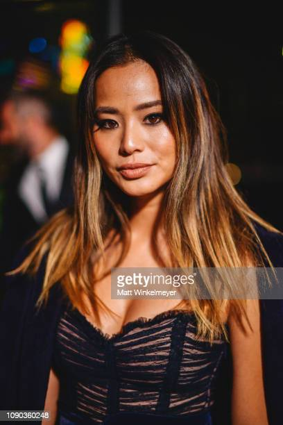 Jamie Chung attends Michael Muller's HEAVEN, presented by The Art of Elysium on January 05, 2019 in Los Angeles, California.