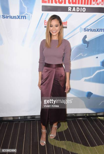 Jamie Chung attends SiriusXM's Entertainment Weekly Radio Channel Broadcasts From Comic Con 2017 at Hard Rock Hotel San Diego on July 22 2017 in San...