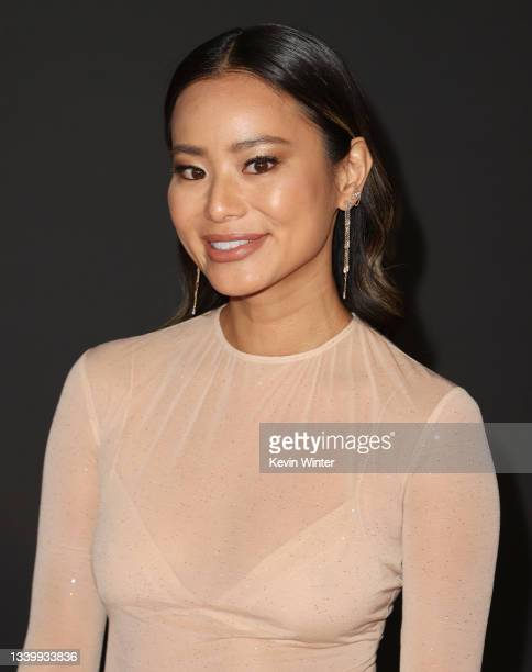 Jamie Chung attends the 2021 Creative Arts Emmys at Microsoft Theater on September 12, 2021 in Los Angeles, California.