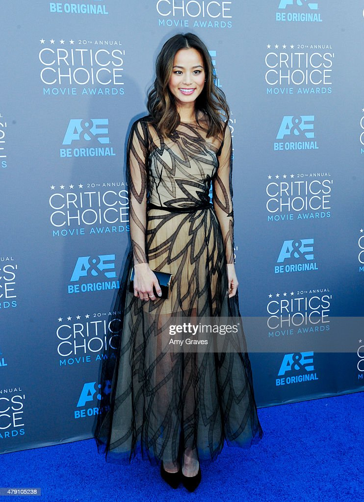 Jamie Chung attends the 20th Annual Critics' Choice Movie Awards on January 15, 2015 in Los Angeles, California.