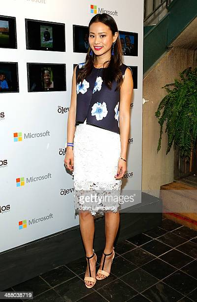 Jamie Chung attends the 3rd Annual Olevolos Project Brunch at Gallow Green at the McKittrick Hotel on May 3 2014 in New York City