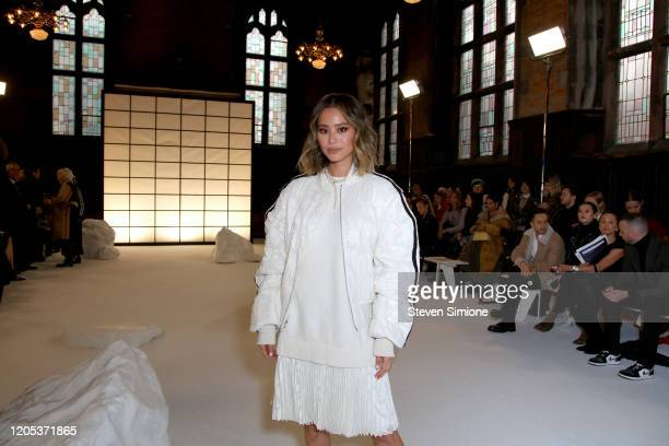 Jamie Chung attends the Adeam fashion show during February 2020 New York Fashion Week The Shows at The Highline Hotel on February 10 2020 in New York...