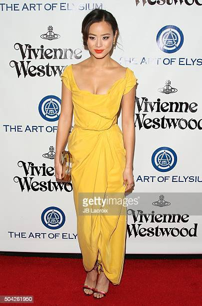 Jamie Chung attends the Art of Elysium 2016 HEAVEN Gala presented by Vivienne Westwood Andreas Kronthaler at 3LABS on January 9 2016 in Culver City...