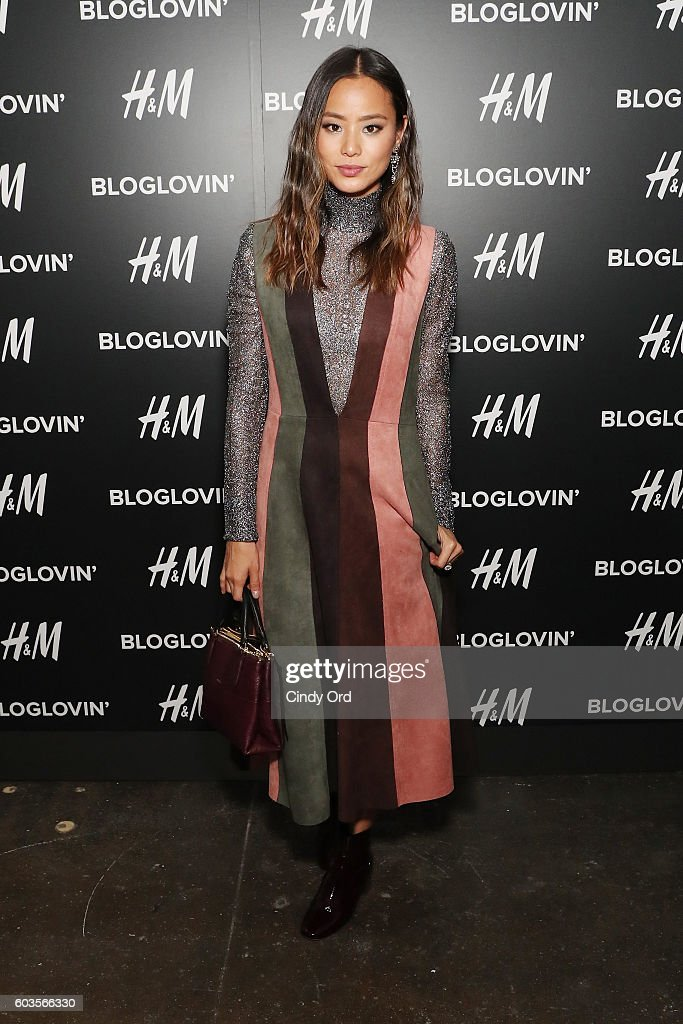 Jamie Chung attends the Blog Lovin' Awards at Industria Superstudio on September 12, 2016 in New York City.