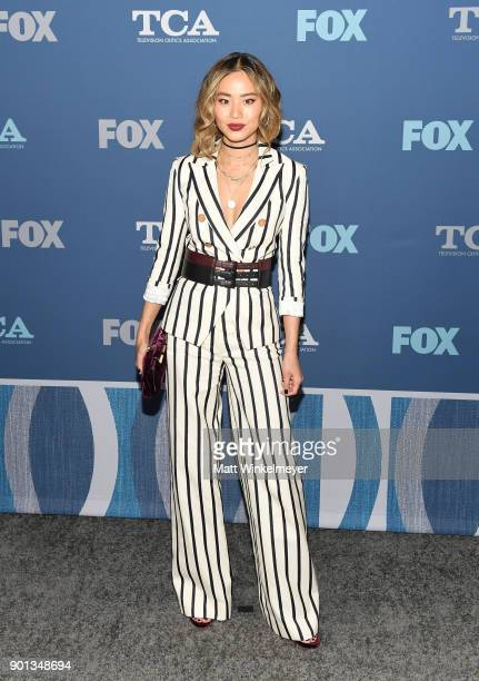 Jamie Chung attends the FOX AllStar Party during the 2018 Winter TCA Tour at The Langham Huntington Pasadena on January 4 2018 in Pasadena California