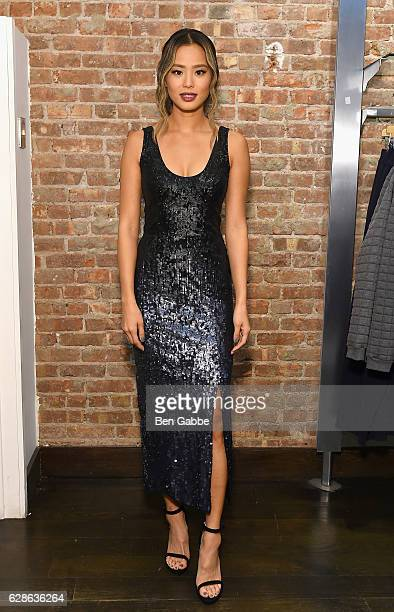 Jamie Chung attends the French Connection holiday 2016 event on December 8 2016 in New York City