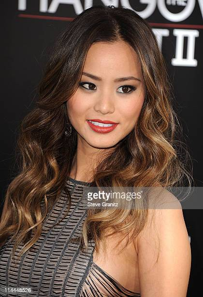 Jamie Chung attends 'The Hangover Part II' Los Angeles Premiere at Grauman's Chinese Theatre on May 19 2011 in Hollywood California