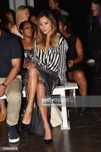 Jamie Chung attends the Nicole Miller Spring 2019 Runway Show at Industria Studios on September 6 2018 in New York City