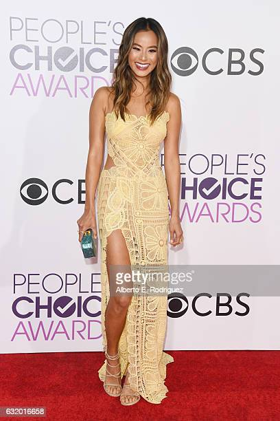 Jamie Chung attends the People's Choice Awards 2017 at Microsoft Theater on January 18 2017 in Los Angeles California