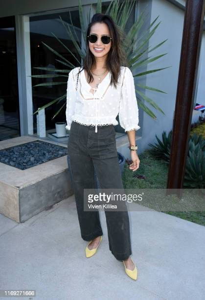 Jamie Chung attends the Rothy's Conscious Cocktails event at a private residence on August 20, 2019 in Los Angeles, California.