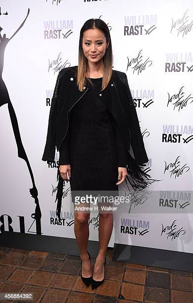 Jamie Chung attends the William Rast celebration of its US debut at Lord Taylor on October 8 2014 in New York City