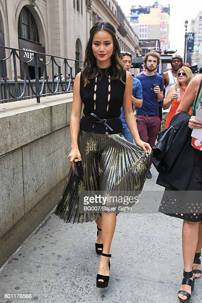 Jamie Chung is seen on September 09 2016 in New York City