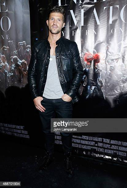 jamie Clarke attends 'Inside Amato' New York premiere at Liberty Theater on September 16 2015 in New York City