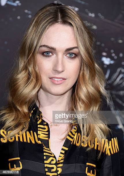 Jamie Clayton arrives at the Jupiter Ascending Los Angeles Premiere at TCL Chinese Theatre on February 2 2015 in Hollywood California