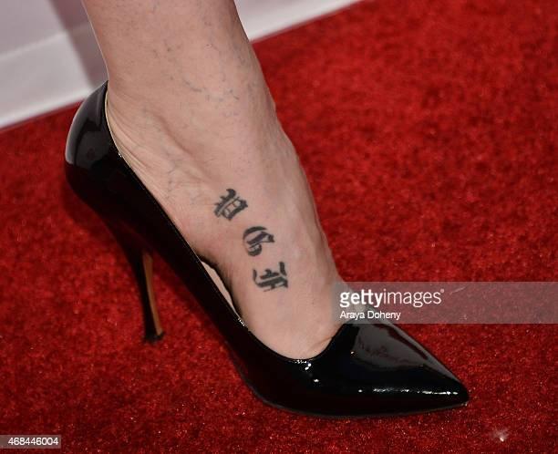 Jamie Clayton attends the Netflix New Original Series Marvel's Daredevil Los Angeles Premiere at Regal Cinemas LA Live on April 2 2015 in Los Angeles...