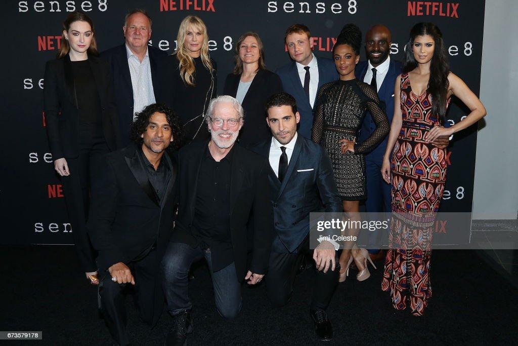 Season 2 Premiere of Netflix's Sense8 : News Photo