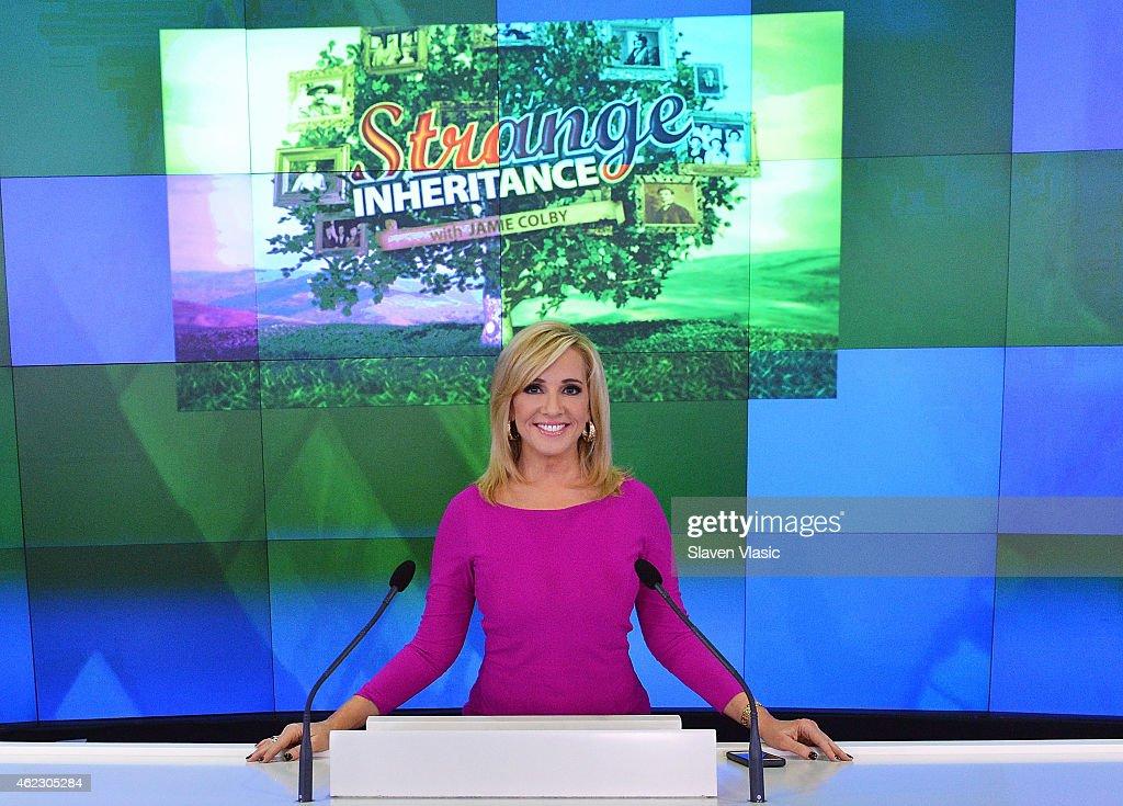 "FOX Business Network's ""Strange Inheritance"" Rings The Nasdaq Closing Bell : News Photo"