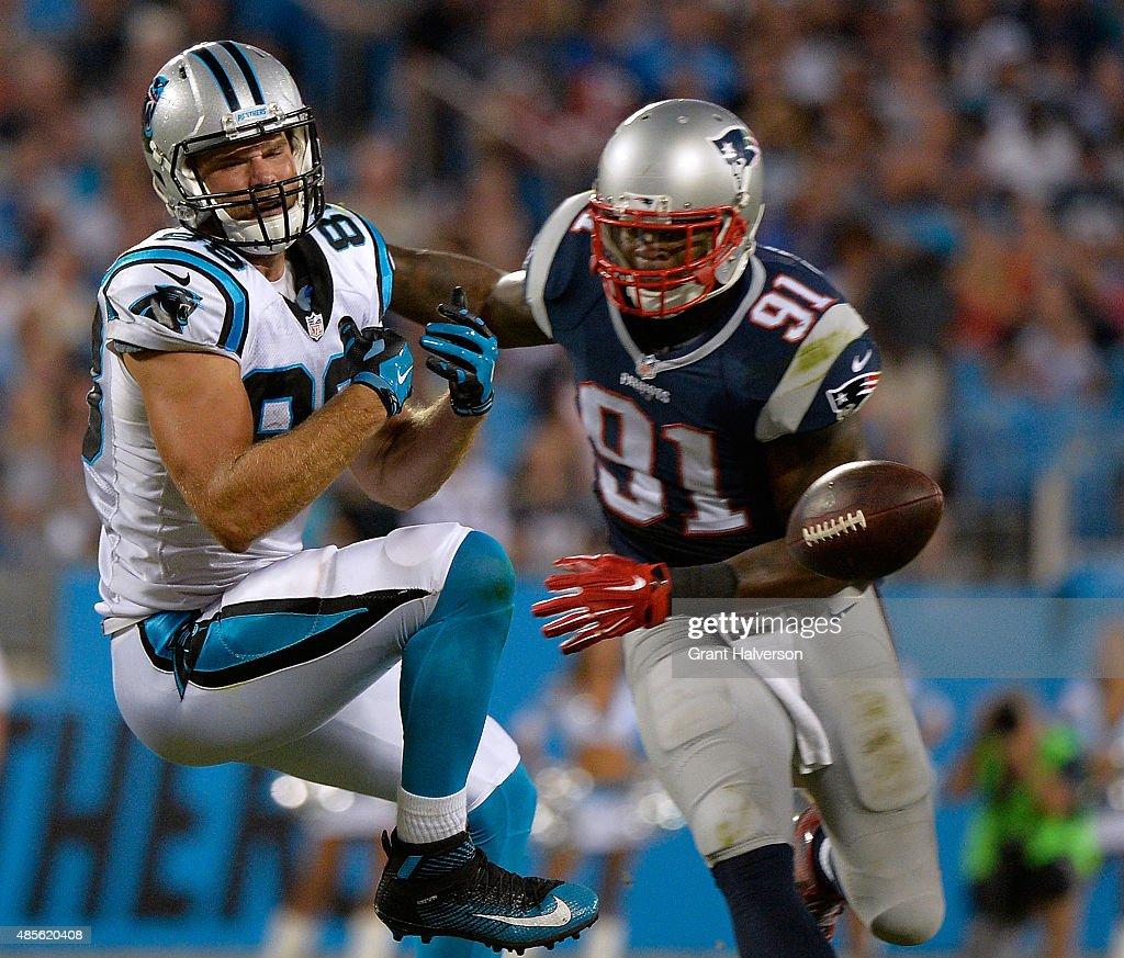 New England Patriots v Carolina Panthers : News Photo
