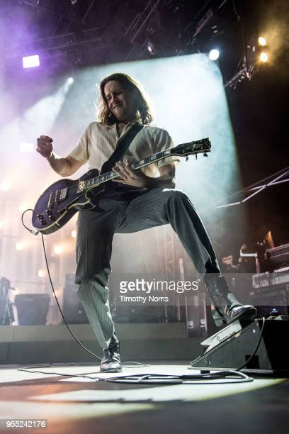 Jamie Cook of Arctic Monkeys performs at Hollywood Forever on May 5 2018 in Hollywood California