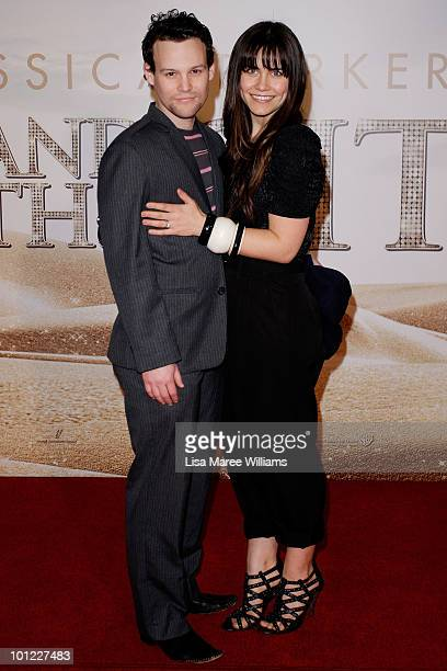 Jamie Croft and Saskia Burmeister arrive at the 'Sex And The City 2' Sydney Premiere at Fox Studios on May 28, 2010 in Sydney, Australia.