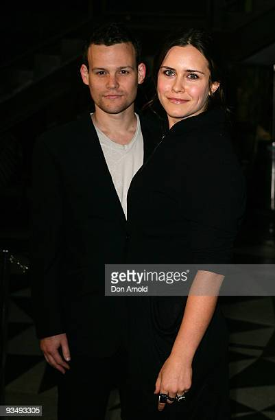Jamie Croft and Saskia Burmeister arrive for the Australian Premiere of 'Bright Star' at Dendy Opera Quays on November 30, 2009 in Sydney, Australia.