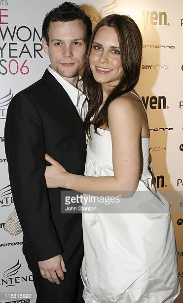 Jamie Croft and Saskia Burmeister during Pantene Young Woman of the Year Awards 2006 at Town Hall in Sydney, NSW, Australia.