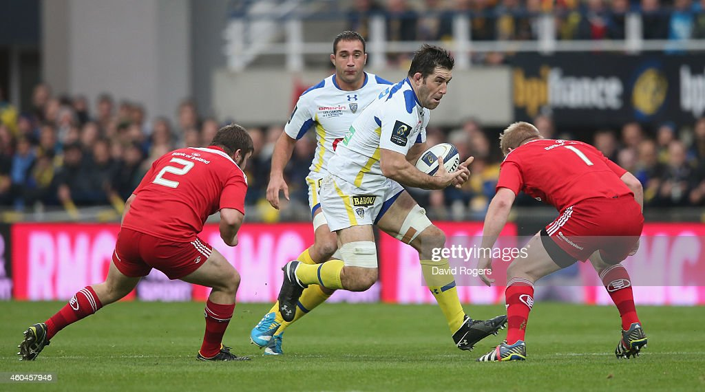 ASM Clermont Auvergne v Munster Rugby - European Rugby Champions Cup : News Photo