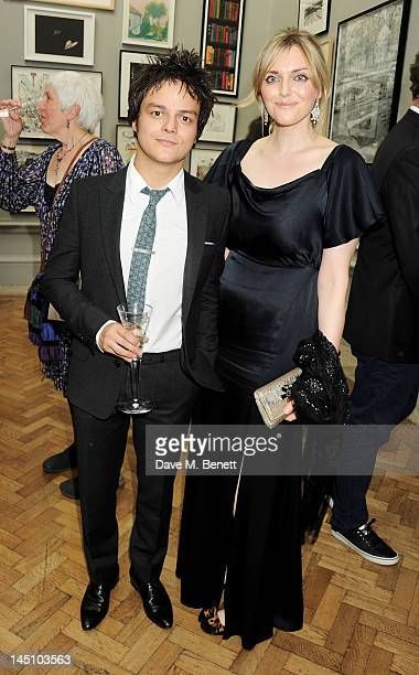 Jamie Cullum and Sophie Dahl attend 'A Celebration Of The Arts' at Royal Academy of Arts on May 23 2012 in London England