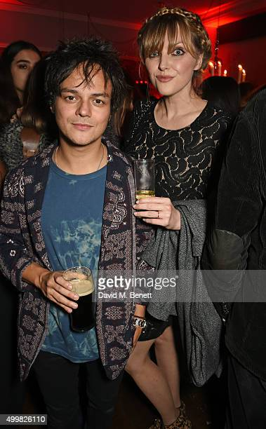 Jamie Cullum and Sophie Dahl attend Charlotte Tilbury's naughty Christmas party celebrating the launch of Charlotte's new flagship beauty boutique in...