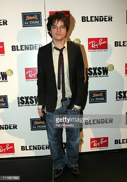 Jamie Cullum during 20th Annual SXSW Music and Film Festival Blender 20th Anniversary Party at Guerrero Produce Warehouse in Austin Texas United...
