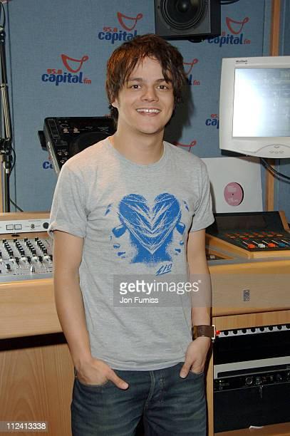 Jamie Cullum during Jamie Cullum Appears on Craig Doyle's Capital FM Radio Show at Capital FM Studios in London, Great Britain.