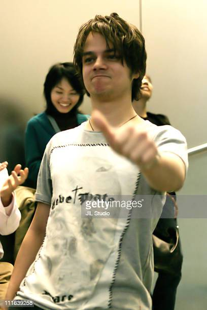 Jamie Cullum during Jamie Cullum at Apple Store Shibuya to Promote His New Album Catching Tales at Apple Store Shibuya in Tokyo Japan