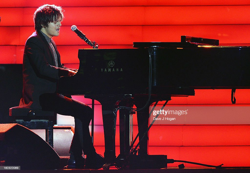 Jamie Cullum performs at 'Unity: A Concert For Stephen Lawrence' in aid of The Stephen Lawrence Charitable Trust at the O2 Arena on September 29, 2013 in London, England.