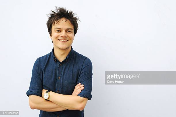 Jamie Cullum performs for a biz session on May 10 2013 in London England