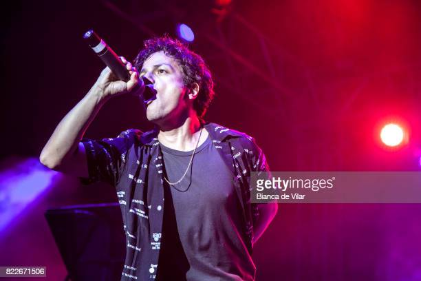 Jamie Cullum performs in Concert in Castillo Sohail Fuengirola on July 25 2017 in Fuengirola Spain