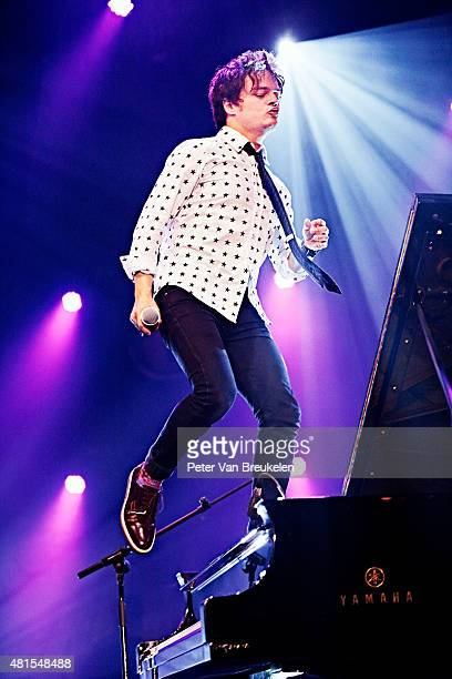 Jamie Cullum performs live at Port Of Rotterdam on July 11 2015 in Rotterdam Netherlands